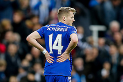 Andre Schurrle of Chelsea looks dejected after Newcastle win 2-1 to inflict a first defeat in all competitions this season on Chelsea - Photo mandatory by-line: Rogan Thomson/JMP - 07966 386802 -06/12/2014 - SPORT - FOOTBALL - Newcastle, England - St James' Park - Newcastle United v Chelsea - Barclays Premier League.