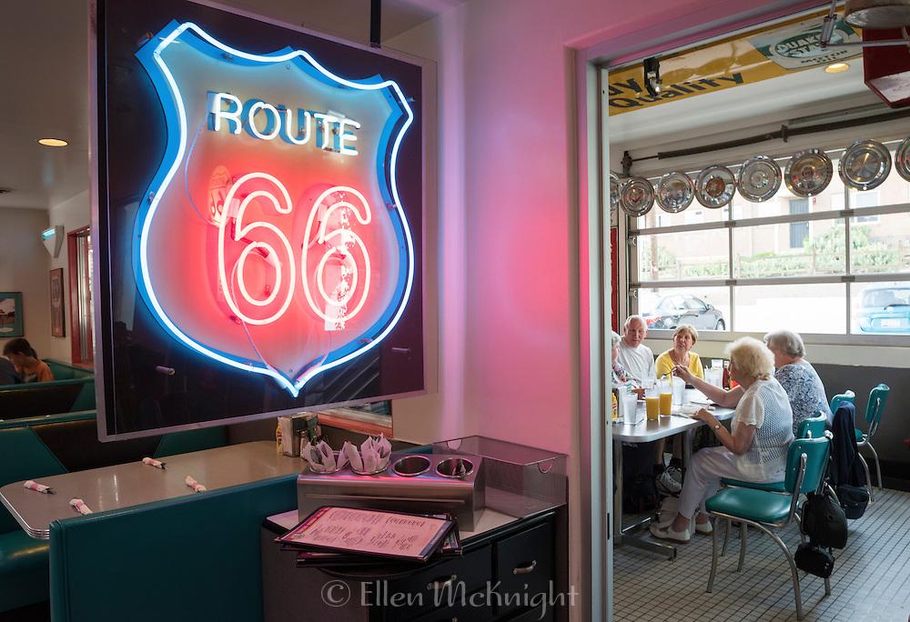 Route 66 Diner in Albuqurque, New Mexico