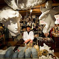 Venice Masks are hand made at Ca del Sol in preparation of Carnival 2011...***Agreed Fee's Apply To All Image Use***.Marco Secchi /Xianpix.tel +44 (0)207 1939846.tel +39 02 400 47313. e-mail sales@xianpix.com.www.marcosecchi.com
