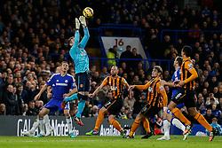 Allan McGregor of Hull City in action - Photo mandatory by-line: Rogan Thomson/JMP - 07966 386802 - 13/12/2014 - SPORT - FOOTBALL - London, England - Stamford Bridge - Chelsea v Hull City - Barclays Premier League.