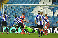 Marriot shot during the EFL Sky Bet Championship match between Sheffield Wednesday and Millwall at Hillsborough, Sheffield, England on 7 November 2020.