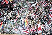 Fussball: 2. Bundesliga, FC St. Pauli - Holstein Kiel, Hamburg, 28.10.2018<br /> St.Pauli-Fans<br /> © Torsten Helmke