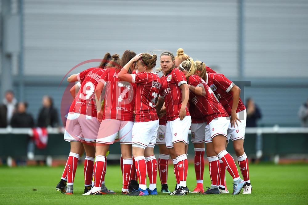 Bristol City Women - Mandatory by-line: Craig Thomas/JMP - 30/09/2017 - RUGBY - Sixways Stadium - Worcester, England - Worcester Valkyries v Saracens Women - Tyrrells Premier 15s