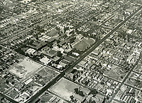 1937 Aerial photo of Los Angeles City College