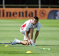 Photo: Chris Ratcliffe.<br />England Training Session. FIFA World Cup 2006. 29/06/2006.<br />Frank Lampard in training.
