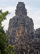 Image of Bayon temple at Angkor Wat Archeological Park, Siem Reap, Cambodia.
