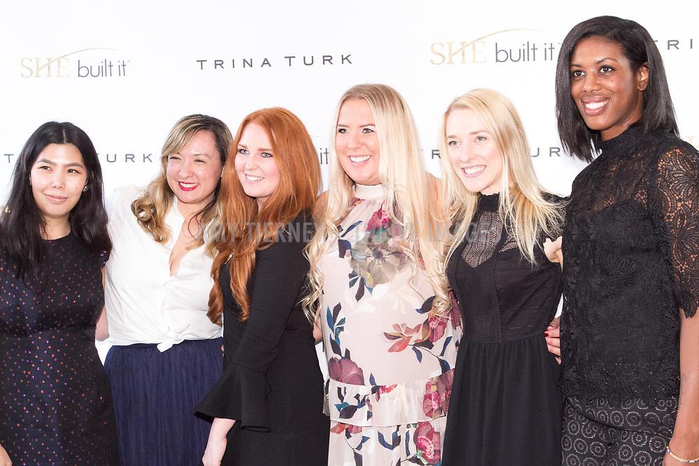 Trina Turk Staff: R-L: Rachel Ashida, Grace Yates, Lindsay Grifka, Jenn Kopitke, Angela Condaras, Tierra Burnley