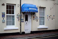 UK ENGLAND DEVON TEIGNMOUTH 10SEP16 - Detail in the town ofTeignmouth, Devon, England.<br /> <br /> jre/Photo by Jiri Rezac<br /> <br /> © Jiri Rezac 2016