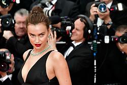 'Yomeddine' Red Carpet Arrivals - The 71st Annual Cannes Film Festival. 09 May 2018 Pictured: Model Irina Shayk. Photo credit: Daniele Cifalà / MEGA TheMegaAgency.com +1 888 505 6342