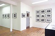 Installation for Dafydd Jones Exhibition in a Box. Bermondsey Project Space. London. 2016.