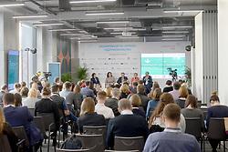 October 2, 2018 - Kyiv, Ukraine - The Ecoinnovations and Green Business: Made in Ukraine Forum takes place in Kyiv, capital of Ukraine, October 2, 2018. Ukrinform. (Credit Image: © Sergiy Anishchenko/Ukrinform via ZUMA Wire)