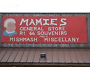 USA, Oklahoma, Stroud, Mamies General Store and souvenir shop.