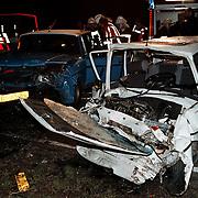 Ongeval Crailoseweg - Lange Huizerweg met beknelling