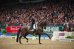 Gal Edward (NED) - Glock's Undercover<br /> Kur - Reem Acra FEI World Cup Dressage Qualifier - The London International Horse Show Olympia - London 2012<br /> © Hippo Foto - Jon Stroud
