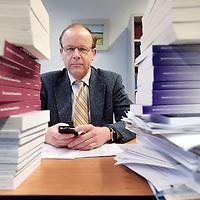 Nederland, Tilburg , 23 november 2009..Arij Lans Bovenberg (Oosterbeek, 15 juni 1958) is een belangrijke Nederlandse econoom..Dutch economist Lans Bovenberg.