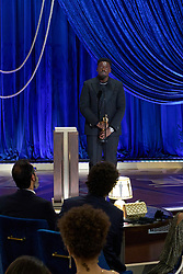 Daniel Kaluuya accepts the Oscar® for Best Actor in a Supporting Role during the live ABC Telecast of The 93rd Oscars® at Union Station in Los Angeles, CA, USA on Sunday, April 25, 2021. Photo by Todd Wawrychuk/A.M.P.A.S. via ABACAPRESS.COM.