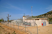 Water pumping station at the source of Nahal Kziv, Galilee, Israel