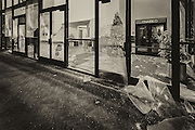 The Oakland Chase bank is vandalized by rioters taking their anger out on storefronts.