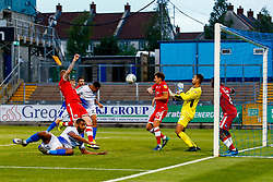 Kyle Bennett of Bristol Rovers scores his sides first goal of the game  - Mandatory by-line: Ryan Hiscott/JMP - 14/08/2018 - FOOTBALL - Memorial Stadium - Bristol, England - Bristol Rovers v Crawley Town - Carabao Cup