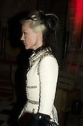 DAPHNE GUINNESS, European Film premiere of Sweeny Todd,  Odeon Leicester Sq. and party afterwards at the Royal Courts of Justice. 10 January 2008. -DO NOT ARCHIVE-© Copyright Photograph by Dafydd Jones. 248 Clapham Rd. London SW9 0PZ. Tel 0207 820 0771. www.dafjones.com.