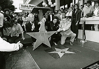 1984 Mickey Gilley's Walk of Fame ceremony