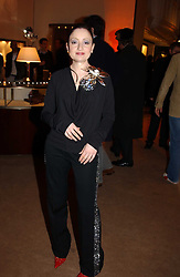 Jeweller ELIZABETH GALTON at a party to celebrate the 2nd anniversary of Quintessentially magazine held at Asprey, Bond Street, London on 24th February 2005.<br />