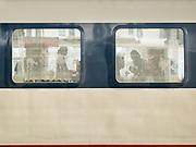 The train from Hong Kong to Urumqi (Xinjiang).