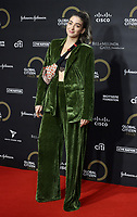 Harriet Rose at the Global Citizen Prize at the Royal Albert Hall in London 12th dec 2019 Photo by Cat morley