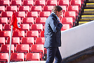 Gareth Ainsworth  of Wycombe Wanderers (Manager) arrives at the ground during the EFL Sky Bet League 1 match between Barnsley and Wycombe Wanderers at Oakwell, Barnsley, England on 16 February 2019.
