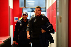 Toyota Cheetahs arrive before the game against Scarlets - Mandatory by-line: Dougie Allward/JMP - 02/11/2019 - RUGBY - Parc y Scarlets - Llanelli, Wales - Scarlets v Toyota Cheetahs - Guinness PRO14