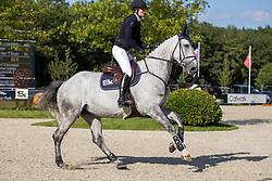 Conter Zoe, BEL, Olana van't Kruis<br /> Belgisch Kampioenschap 7 jarige springpaarden - Oudsbergen 2021<br /> © Hippo Foto - Dirk Caremans<br /> 15/08/2021
