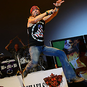 BETHLEHEM, PA - MAY 03:  Bret Michaels performs live at the 27th annual Muscular Dystrophy Association Ride for Life on May 3, 2014 at ArtQuest Center in Bethlehem, Pennsylvania.  (Photo by Lisa Lake/Getty Images)