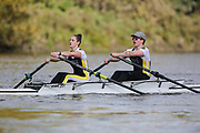 Crew: 50 - Bailey / Anderson - University of Westminster Boat Club Mx 2x <br /> <br /> Pairs Head 2020
