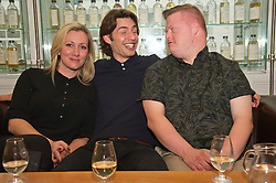 Pictured: Director Jane Gull, Will Rastall and Stephen Brandon<br /> <br /> Some of the cast and those behind the scenes of My Feral Heart gathered in the Scotch Whisky Society in Edinburgh to relax ahead of the UK Premier of their film at the Edinburgh International Film Festival. Directed by Jane Gull, My Feral Heart stars Stephen Brandon in his debut as Luke, Will Rastall, Shana Swash, Eileen Polliock, Suzanna Hamilton and Pixie Le Knot.<br /> <br /> When Luke, an independent and sensitive young man with Down's syndrome is forced to live in a care home after his elderly mother dies, he struggles to settle. Frustrated by having his wings clipped by unfamiliar rules; totally unimpressed by his new housemates and grieving for his Mum - his disappointment soon turns to wonder when Luke discovers a way out and begins to explore the surrounding countryside. When he is caught sneaking out by Pete, a troubled youth who tends the gardens at the Home, they strike up an unlikely rapport: Pete covers for Luke when he sneaks out and in return Luke helps Pete clear the garden. On an illicit excursion to the adjoining field Luke discovers a young injured girl in desperate need of his help.<br /> <br /> <br /> Ger Harley | EEm 17 June  2016