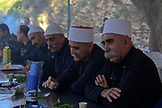 Men outdoors in Druze Village, Galilee, Israel