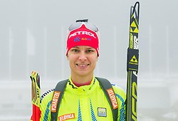 Teja Gregorin during media day of Slovenian biathlon team before new season 2013/14 on November 14, 2013 in Rudno polje, Pokljuka, Slovenia. Photo by Vid Ponikvar / Sportida