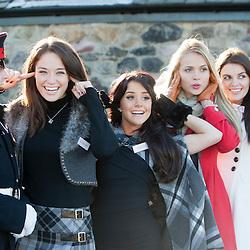 Miss World visit Scotland 2011