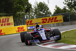June 9, 2017 - Montreal, Canada - Motorsports: FIA Formula One World Championship 2017, Grand Prix of Canada, .#26 Daniil Kvyat (RUS, Scuderia Toro Rosso) (Credit Image: © Hoch Zwei via ZUMA Wire)