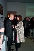 SIMON NEGGERS; LARA BOHINC, Wallpaper* Design Awards. Wilkinson Gallery, 50-58 Vyner Street, London E2, 14 January 2010 *** Local Caption *** -DO NOT ARCHIVE-© Copyright Photograph by Dafydd Jones. 248 Clapham Rd. London SW9 0PZ. Tel 0207 820 0771. www.dafjones.com.<br /> SIMON NEGGERS; LARA BOHINC, Wallpaper* Design Awards. Wilkinson Gallery, 50-58 Vyner Street, London E2, 14 January 2010