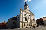 Cathedral ( Basilika ) - Gyor ( Gy?r ) Hungary .<br /> <br /> Visit our HUNGARY HISTORIC PLACES PHOTO COLLECTIONS for more photos to download or buy as wall art prints https://funkystock.photoshelter.com/gallery-collection/Pictures-Images-of-Hungary-Photos-of-Hungarian-Historic-Landmark-Sites/C0000Te8AnPgxjRg