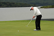 28-7-2011: Padraig Harrington in action at the Irish Open in Killarney on Thursday..Picture by Don MacMonagle