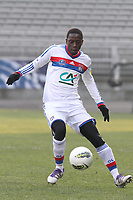 FOOTBALL - FRENCH CUP 2011/2012 - 1/8 FINAL - OLYMPIQUE LYONNAIS v GIRONDINS DE BORDEAUX - 08/02/2012 - PHOTO EDDY LEMAISTRE / DPPI - MOUHAMADOU DABO (OL)
