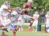 NU football at home against St. Lawerence