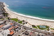 Main Beach in Laguna Aerial Stock Photo