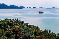 West Sumatra, Padang. Landscape close to Padang port, Teluk Bayur.