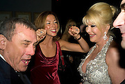 SOL KERZNER, HEATHER KERZNER  AND IVANA TRUMP. Patti and Andy Wong  host a night of Surrealism to Celebrate the Chinese Year of the Rat. County Hall Gallery and Dali Universe. London. 27 January 2008. -DO NOT ARCHIVE-© Copyright Photograph by Dafydd Jones. 248 Clapham Rd. London SW9 0PZ. Tel 0207 820 0771. www.dafjones.com.