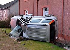 Car crashes into house , Armadale,  11 January 2019