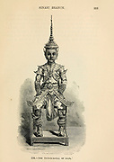 The Prince Royal of Siam engraving on wood From The human race by Figuier, Louis, (1819-1894) Publication in 1872 Publisher: New York, Appleton