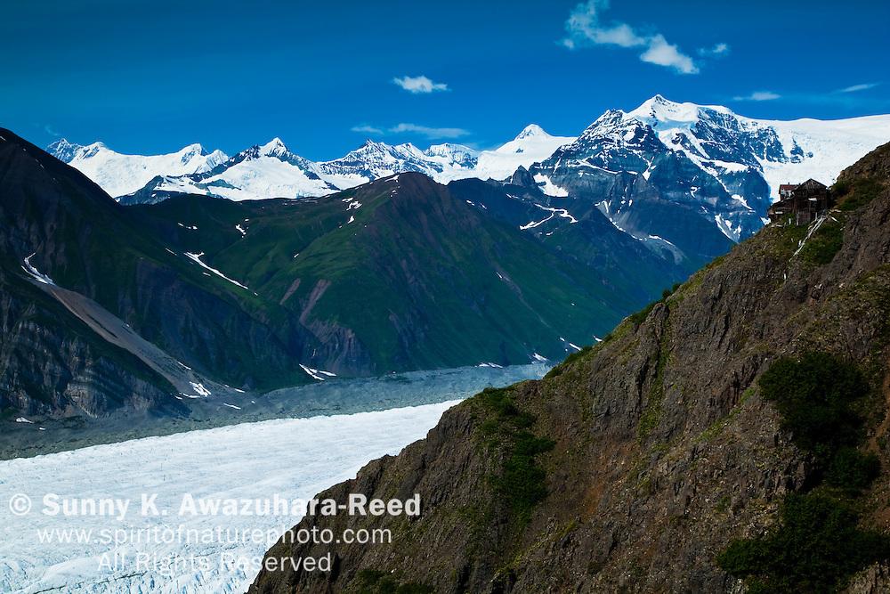 Erie Mine Bankhouse Ruins, Root Glacier, Wrangell - St. Elias Park, Alaska