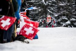 January 1, 2018 - Stockholm, Sweden - Ingvild Flugstad Östberg. 10 km fristil, damer och 15 km fristil herrar. Tour de Ski, Lenzerheide (Credit Image: © Orre Pontus/Aftonbladet/IBL via ZUMA Wire)